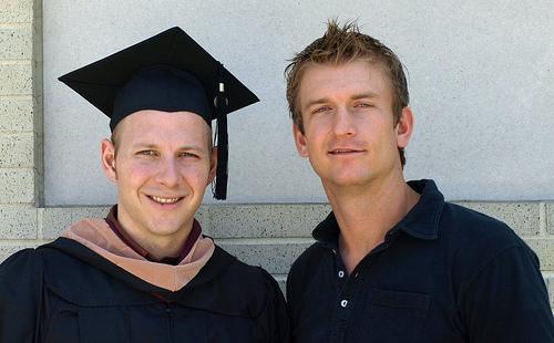 Mr. M.B.A. graduate and I