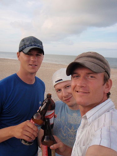 Eric, Craig, me Outer Banks II