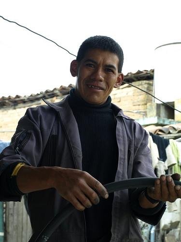 Bike Mechanic Preacher