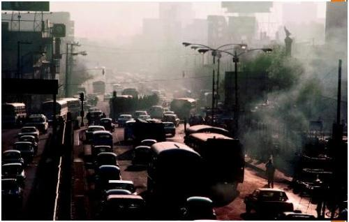 Mexico City Smog (http://tinyurl.com/vehicularpollution)