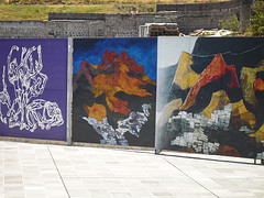 Guayasamin's Paintings of Quito